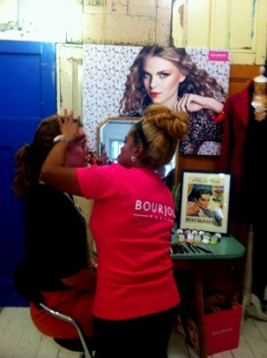 Vogue Fashion's Night Out make up by Bourjois