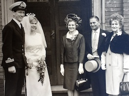 Family weddings from the 50s, 60s and 70s
