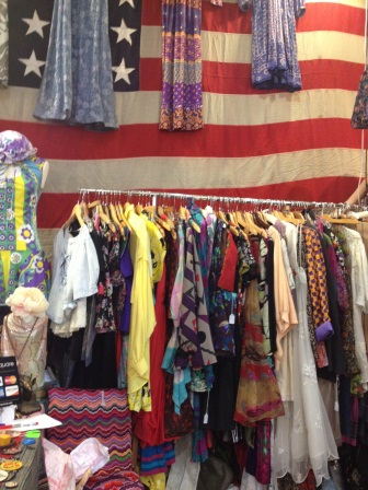 Vintage dresses at Artists and Fleas