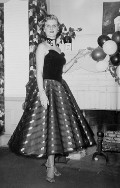 New years eve party 1950