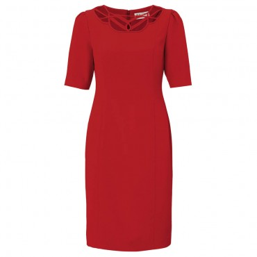 AW13_Frances_Pencil_Dress_Red_F