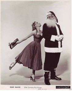 June Haver 1950s Christmas