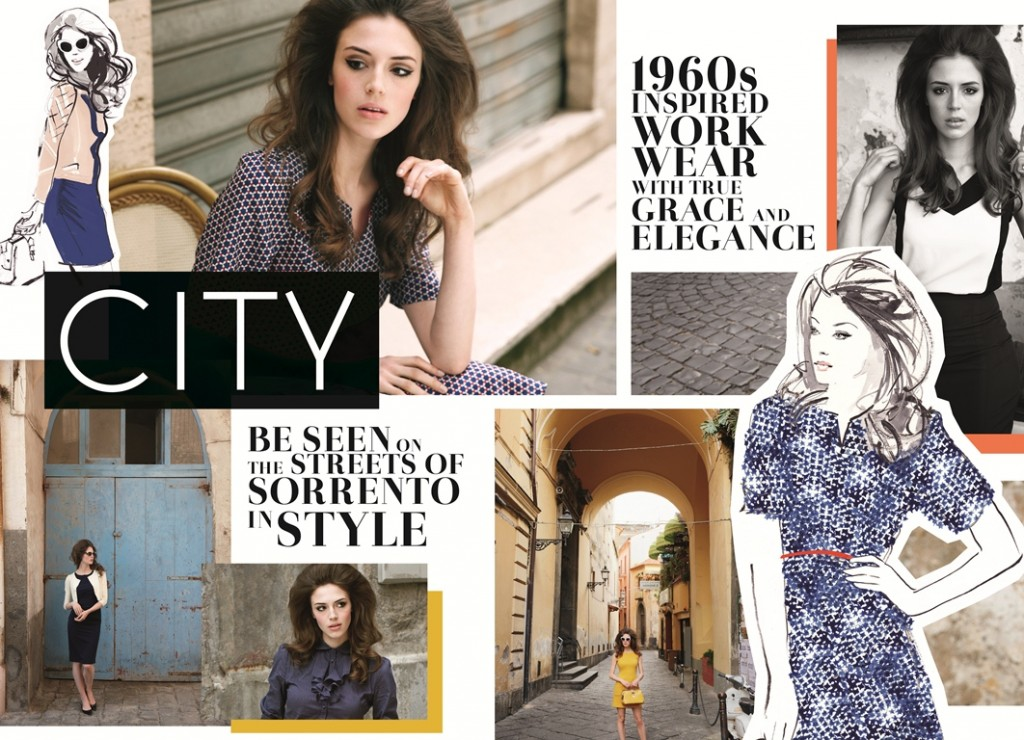 Moodboard Look Book City