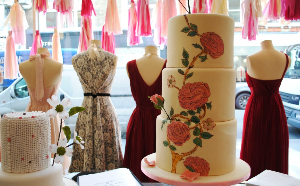 Cake and dresses