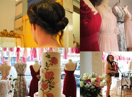 Wedding Fair 2014 - Cakes, pretty hair and French jazz
