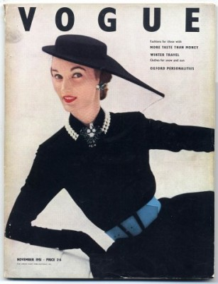 John Deakin British Vogue 1951 Cover