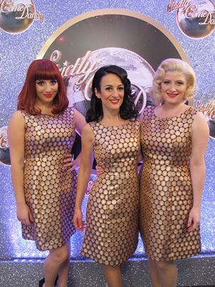 the puppini sisters on strictly come dancing