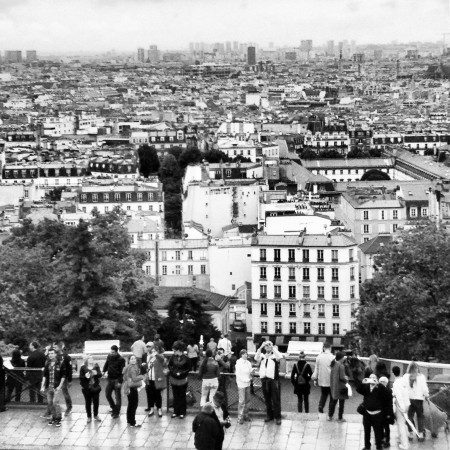 The view from Sacre Cour
