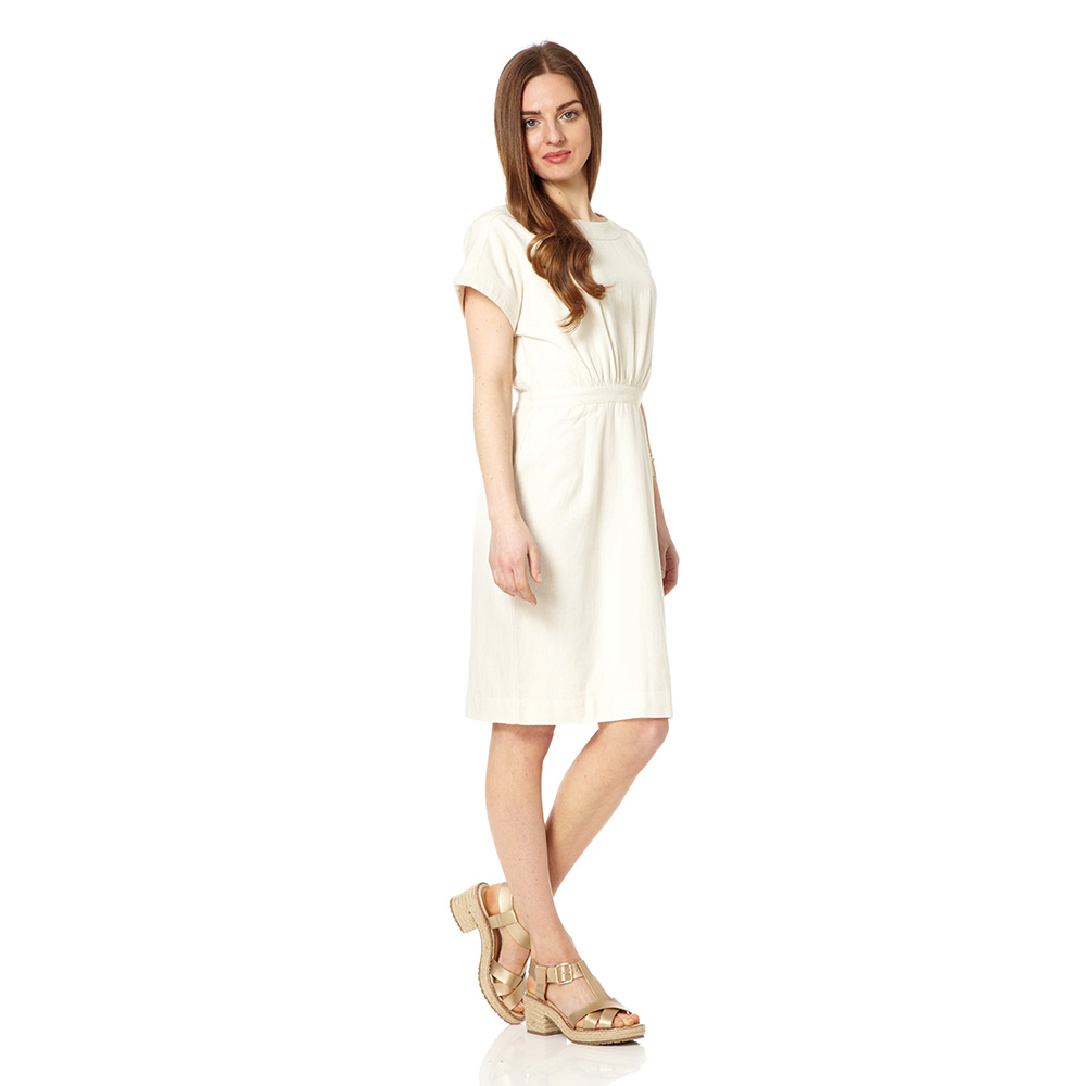 San Pedro Dress in cream