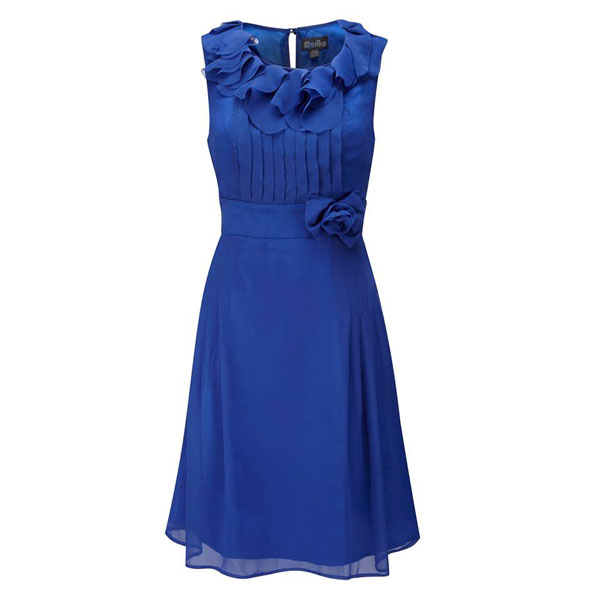 491a909e4d6 Gift  Fever s vintage-inspired Vienna Dress in Blue Size 14