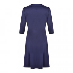 Andrea Wrap Dress Navy