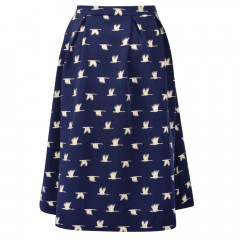 Aria Skirt Navy/Cream