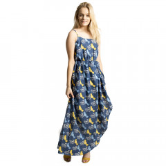 Cassie Maxi Dress Navy Multi