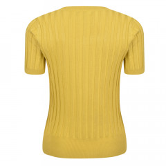 Kingsley Knit Top Mustard
