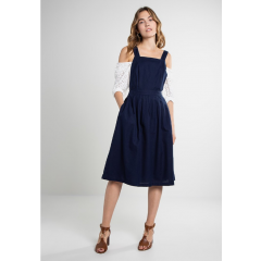 Laura Strap Dress Navy