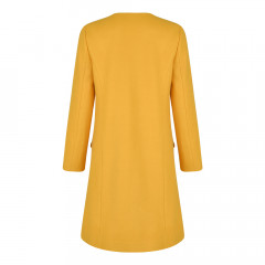 Lilliana Coat Mustard