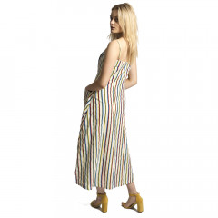 Pia Dress Multi Stripe