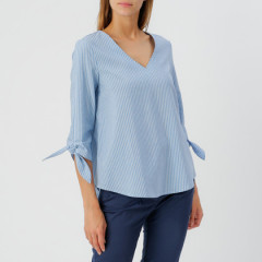 Sabina Top Sky/Cream