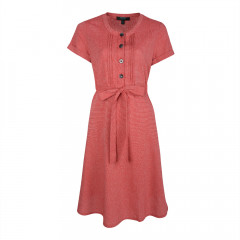 Juno Tea Dress Red