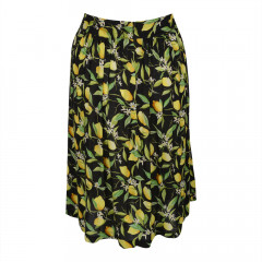 Lemon Blossom Skirt Black/Yellow