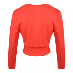 Mariel Cardigan Poppy Red
