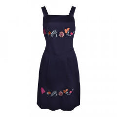 Philippa Dress Navy
