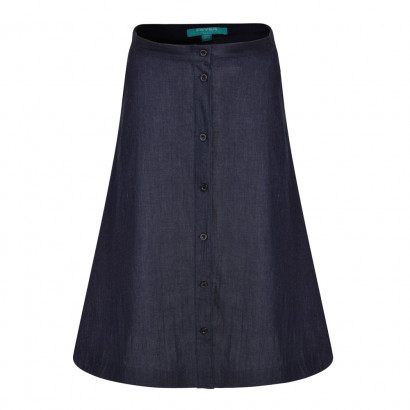Elizabeth Skirt Dark Denim