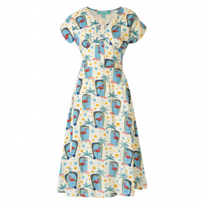 Flamingo Dress Multi