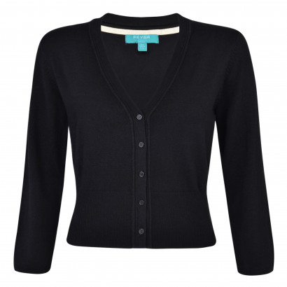Mariel Cardigan Black