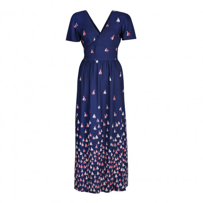 Regatta Maxi Dress Navy