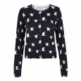 Aria Cardigan Navy/Cream