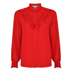 Amaya Blouse Red