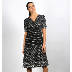 Miniola Dress Black/Cream
