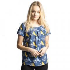 Cassie Top Navy Multi