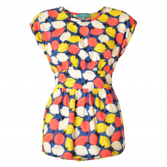 Lemonade Top Navy Multi