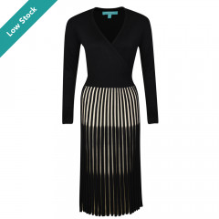Lila Dress Black/Cream