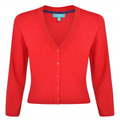 Mariel Cardigan Red