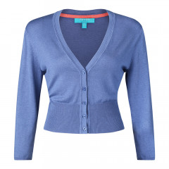 Mariel Cardigan Fern Blue