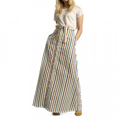 Pia Maxi Skirt Multi Stripe