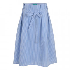 Sabina Skirt Sky/Cream