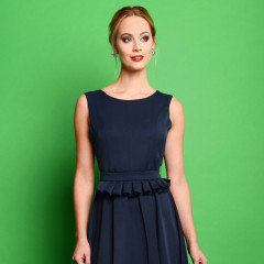 Adriana Dress Navy