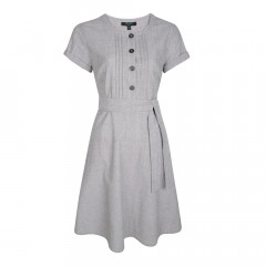 Juno Tea Dress Black/White