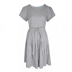 Thea Summer Dress Black/White
