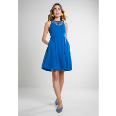 Abigail Dress Blue