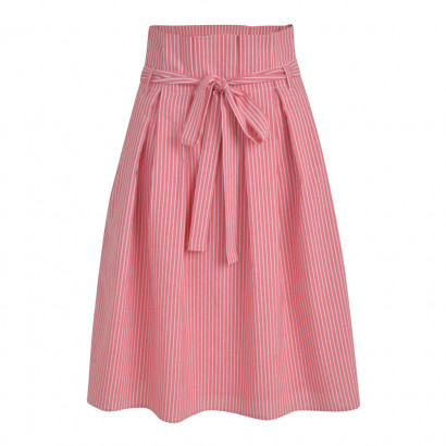 Sabina Skirt Red/Cream