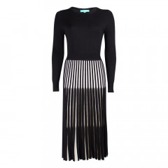 Lewes Dress Black/Cream