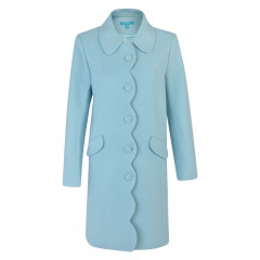 Lana Coat Duck Egg Blue