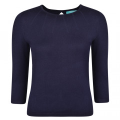 Greenland Knit Top Navy