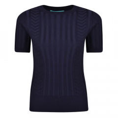 Kingsley Knit Top Navy