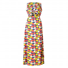 Lemonade Maxi Dress Navy Multi